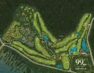 99 East Golf Club - Layout