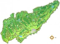 Bali Handara Golf & Country Club Resort - Layout