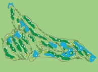 Kuala Lumpur Golf & Country Club, East Course - Layout