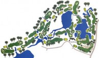 Blue Canyon Country Club, Canyon Course - Layout