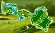 Santiburi Chiang Rai Country Club - Layout