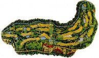 Alpine Golf Resort Chiang Mai - Layout
