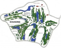 Eastern Star Country Club & Resort - Layout