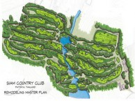 Siam Country Club, Plantation Course - Layout