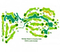 Nichigo Golf Resort & Country Club - Layout
