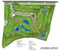 Montgomerie Links Vietnam - Layout