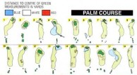 Saujana Golf & Country Club, Palm Course - Layout