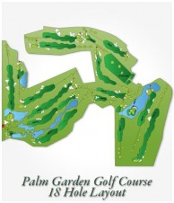Palm Garden Golf Club - Layout