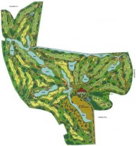 Penang Golf Resort, East Course - Layout