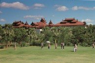 Bagan Golf Resort - Clubhouse