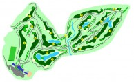 Kajang Hill Golf Club - Layout