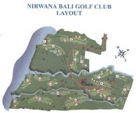 Nirwana Bali Golf Club - Layout