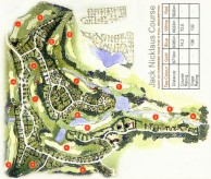 The Legends Golf Resort - Layout