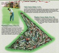 Tiara Melaka Golf & Country Club - Layout