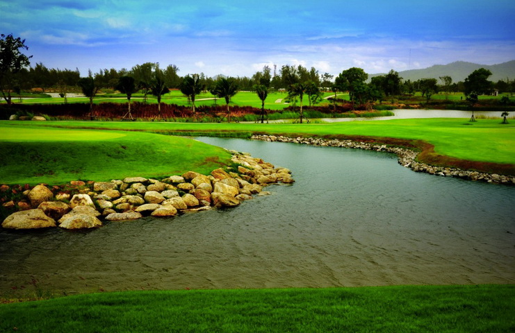 Sea pine golf course hua hin golf course reservation for Asian cuisine ocean pines
