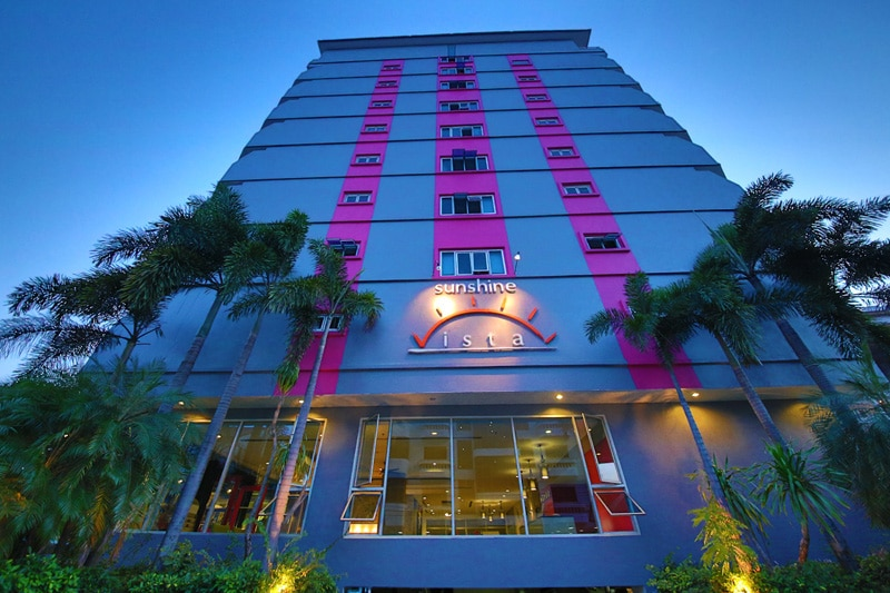 Sunshine Vista Serviced Apartments Pattaya