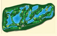 Ayutthaya Golf Club - Layout