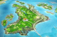 BRG Kings Island Golf Resort, Lakeside Course - Layout