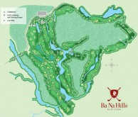 Ba Na Hills Golf Club - Layout