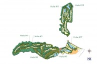 Bali National Golf Club - Layout