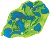 Blue Sapphire Golf & Resort - Layout