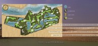 Blue Star Golf Course - Layout