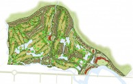 KN Golf Links Cam Ranh - Layout