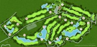 Chiang Mai Inthanon Golf & Natural Resort - Layout
