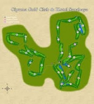 Ciputra Golf Club & Hotel Surabaya  - Layout