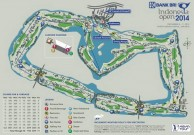 Damai Indah Golf, Pantai Indah Kapuk (PIK) Course - Layout