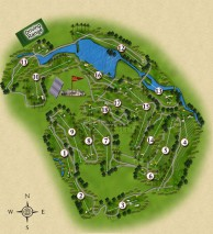 Danau Golf Club - Layout