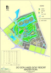 BRG Ruby Tree Golf Resort - Layout