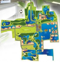 Gassan Legacy Golf Club - Layout