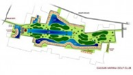 Gassan Panorama Golf Club - Layout
