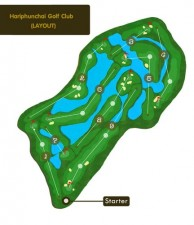Hariphunchai Golf Club - Layout