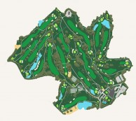 Hilltop Valley Golf Club - Layout