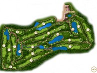 TPC KL, West Course (Kuala Lumpur Golf & Country Club) - Layout