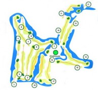 Hua Hin Korea Golf Club (formerly Milford Golf Club & Resort) - Layout