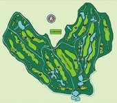 Rayong Green Valley Country Club - Layout