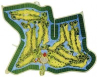 Kiarti Thanee Country Club - Layout