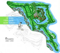 Angkor Golf Resort - Layout
