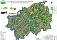 Long Thanh Golf Club & Residential Estate - Layout