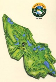 Song Be Golf Resort - Layout