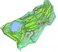 Tam Dao Golf Resort - Layout