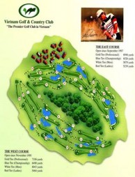 Vietnam Golf & Country Club - Layout