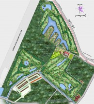 Long Bien Golf Course - Layout
