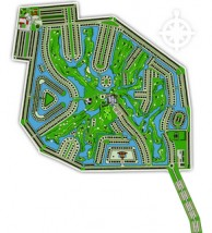 Long Vien Golf Club - Layout