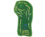 Mae Moh Golf Course - Layout