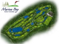 Marina Bay Golf Course - Layout