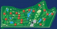 Pattavia Century Golf Club - Layout